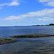 Seascape of nipigon at Lake Nipigon, Ontario, Canada