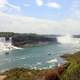 Falls and River Scenery in Niagara Falls, Ontario, Canada