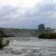 Stormy Clouds over River in Niagara Falls, Ontario, Canada
