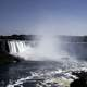 Full View of Horseshoe Falls at Niagara Falls, Ontario, Canada