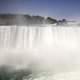 View of American Falls, the Smaller Cousin of Niagara Falls in Ontario, Canada