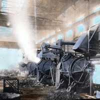 Copper converter in Sudbury, Ontario, Canada in 1920