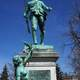 London's Boer War statue, Victoria Park in Ontario, Canada