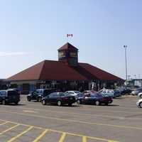Oshawa Train Station in Ontario, Canada