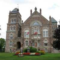 Oxford County Court House in Woodstock, Ontario, Canada