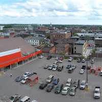 Panoramic View of Peterborough in Ontario, Canada