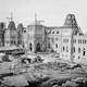 Centre Block on Parliament Hill under construction in 1863 in Ottawa, Ontario