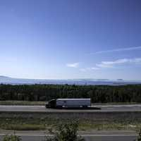 Landscape and Scenery plus a truck from Terry Fox Lookout, Ontario