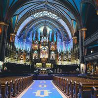 Notre Dame Cathedral of Montreal, Quebec, Canada