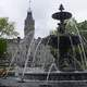 Fountains of Water in Quebec City, Canada
