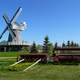 Mennonite Heritage Village windmill in Manitoba, Canada