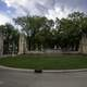 Circle in front of Saint Andrew's College in Saskatoon