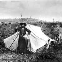 Chief Isaac of the Hän, Yukon Territory, 1898