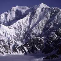 Mount Logan from the southeast in Yukon Territory, Canada