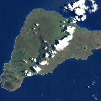 Easter Island from Space, Chile