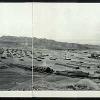 Chuquicamata Copper Mine in 1925 in Chile