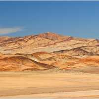 Desert and Mountains landscape in Chile