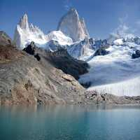 Fitz Roy Mount in Chile