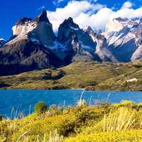 Torres del Paine majestic Landscape in Chile