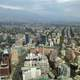 Buildings and Cityscape and clouds of Santiago, Chile