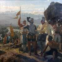 Founding of Santiago, Chile, in 1541