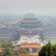 Forbidden City under smog in Beijing, China