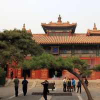 Temple and Pavilion in Beijing, China
