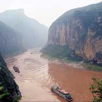 Qutang Gorge in Chongqing, China