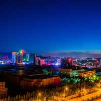 Night View of City of Shenzhen
