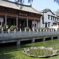 Guiyuan Temple with Pond