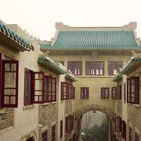 Inside of Wuhan University