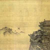 Yellow Crane Tower from Yuan Dynasty