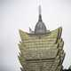 Gold roof on the Grand Lisboa