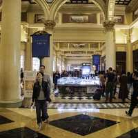 Shopping Corridors in the Venetian Casino