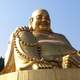 Large Golden Buddha Statue in Jinan, China