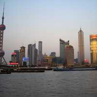 Fuller Skyline of Pudong, Shanghai, China