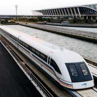 Maglev Transportation System in Shanghai, China
