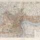 Map of Shanghai in the 1930s in China