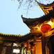 Ancient Temple Architecture in Chengdu, China