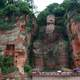 Giant Buddha Statue at Leshan in Chengdu, Sichuan, China