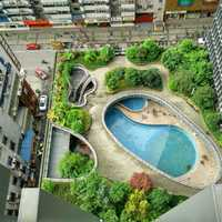 Resort with pools in Chengdu, Sichuan, China