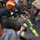 Rescue workers after the Sichuan Earthquake, China