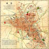 1902 map of Tianjin, China