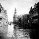 Asahi Street in 1939 Tianjin flood in China