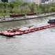 Barge on the River in Hangzhou