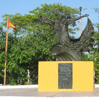 Barranquilla Monument to Cumbia in Colombia
