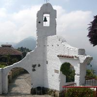 Ruins of a an old chapel in Bogota, Colombia