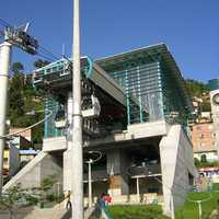 Medellín's Metrocable in Colombia