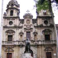 San Ignacio Church in Medellin, Colombia