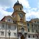 Baroque city clock tower in Rijeka, Croatia